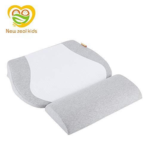 Amazon.com: anti-spit Leche almohada cuna bebé cuña reflujo ...