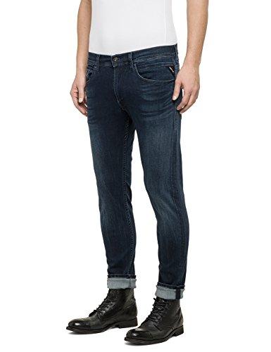 Replay Herren Skinny Jeanshose Jondrill, Gr. W32/L30 (Herstellergröße: 32), Blau (Blue Denim 7)