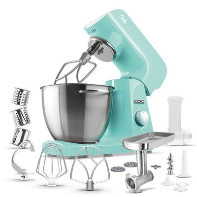 4.75 Qt. 8-Speed Stand Mixer Color: Pastel Mint Green