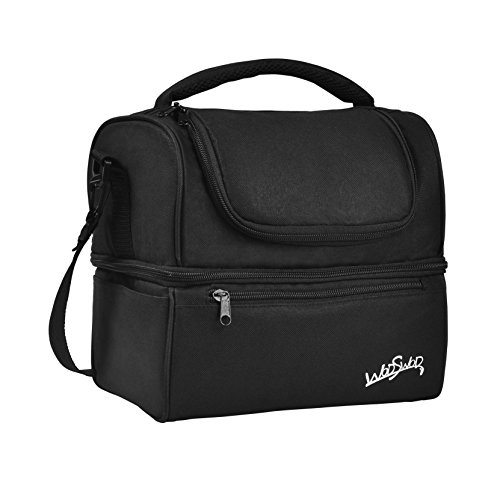 WodsWod Lunch Bag Waterproof Insulated Lunch Box Cooler Bag for Men Women Kids For Travel/Work/Picnic/Camping