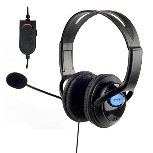Sony UEB DELUXE Headset Headphones with Microphone Volume Control for PS4 Controller