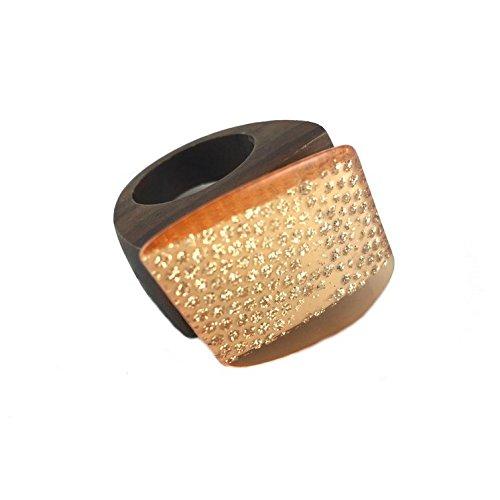 Tilt Womens Ring (Tilt Wood Ring)