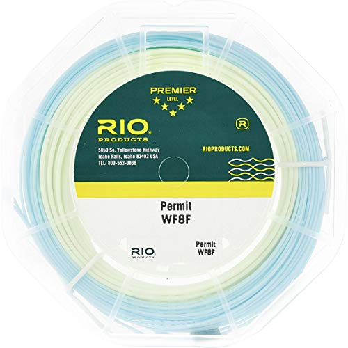 RIO Permit Saltwater 2-Color High Temperature Fly Fishing Line W Welded Loopss