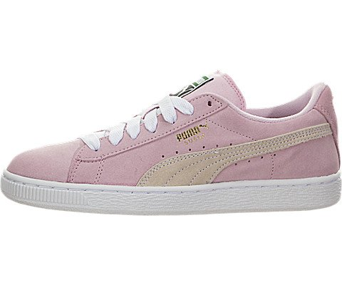 PUMA unisex-child Suede Jr Sneaker