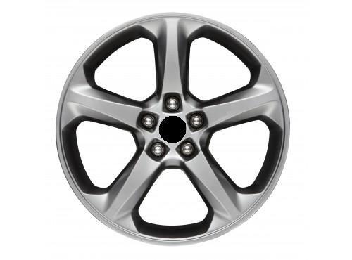 Oem Stock Factory 2013 13 Fusion Sparkle Silver 18'' Wheel Rim with Lug Nuts - Sparkle Rim