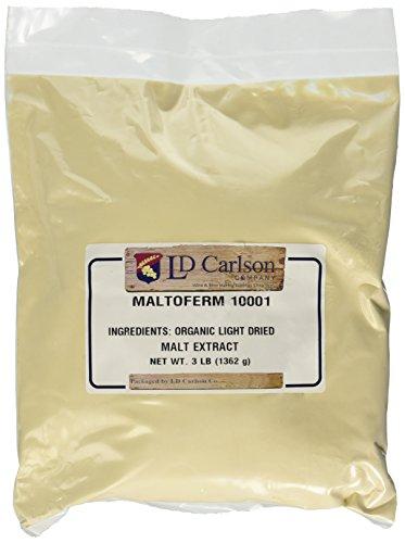 Organic Light Dried Malt Extract DME - Maltoferm 10001-3 ()