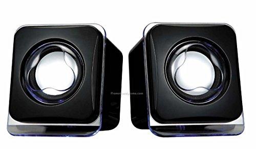ADNET USB Powered Laptop/Desktop PC 2.0 Mini Portable Speakers