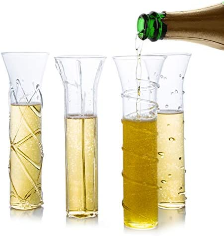 Stemless Champagne Elegant Handmade Designs