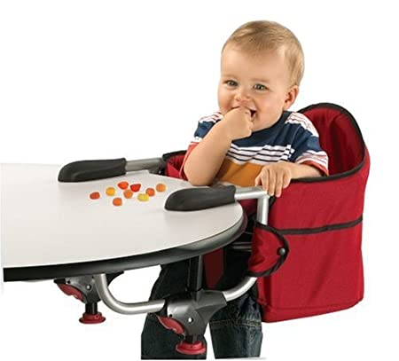 Amazon.com : Chicco Caddy Hook On Chair, Red : Table Hook On Booster Seats  : Baby