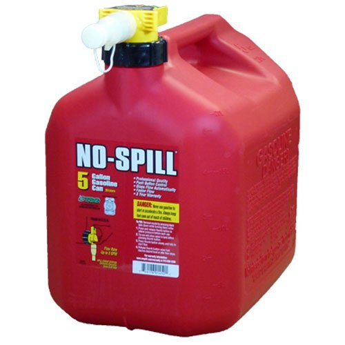 - No-Spill 1450 5-Gallon Poly Gas Can (CARB Compliant)