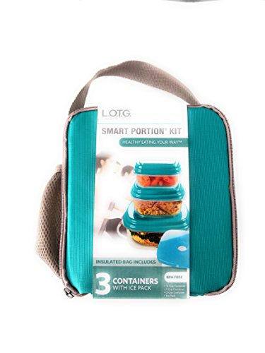 Lunch on the go Smart Portion Kit