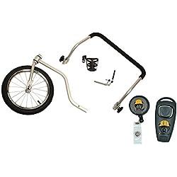 Medium Solvit HoundAbout Strolling Kit and eXtreme Dog Brand Clicker Whistle Set Bundle