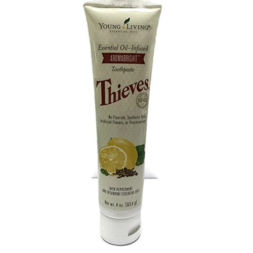 (Thieves Aromabright Toothpaste 4 oz. by Young Living Essential Oils)