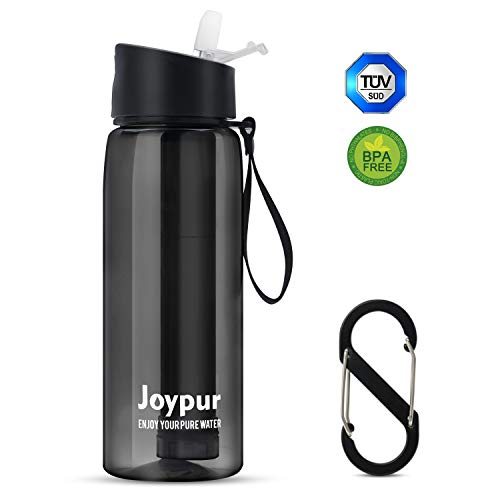 Joypur Filtered Water Bottle with Filter 4-Stage Integrated