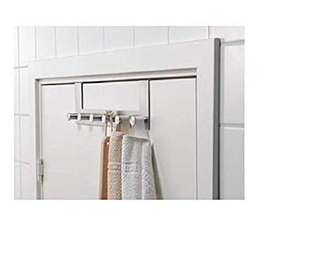 Amazon.com: IKEA GRUNDTAL – Colgador para puerta acero ...