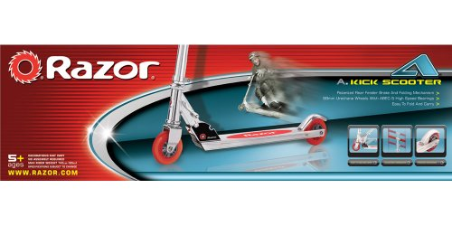 Razor A Kick Scooter, Red