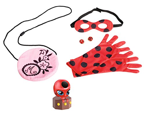 Miraculous Be Marinette and Ladybug Role Play - Set Earrings Noir