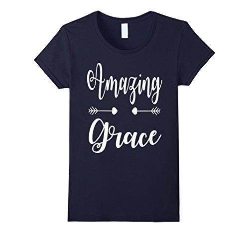 Women's Women's Shirt,  Amazing Grace, Christian t-shirt, Medium (Amazing Tee)
