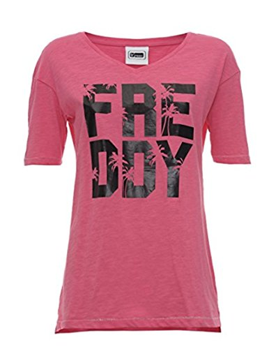 FREDDY S7wcst1-Camiseta Mujer Rosa