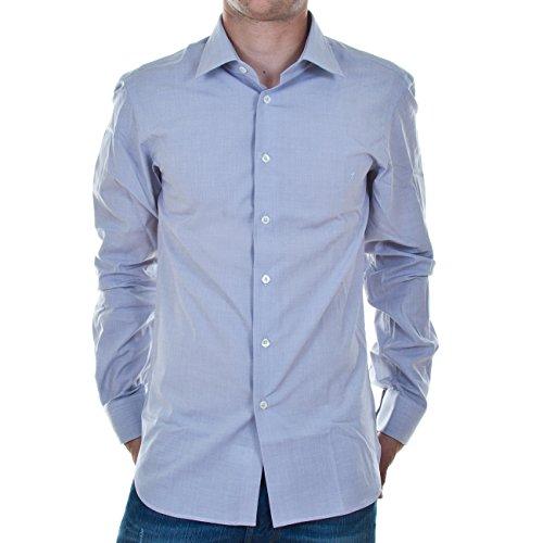 Calvin Klein 14_467146_60176_454, Hemd, Shirt, Herrenhemd, Gr.42, Hellblau