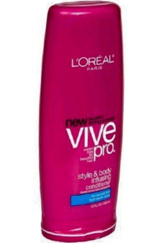 Body Infusing Conditioner - L'Oreal Vive Pro Conditioner, Style & Body Infusing, for Normal Hair that Needs Body, 13-Oz (2 Pack)