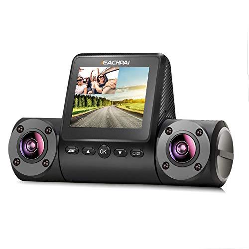 Sharp Ir Detector - Car Camera, EACHPAI X200 Dual Dash Cam FHD 1080P 2'' Screen Car Dashboard Camera 270° Rotation, Sony Sensor, IR Night Vision, Motion Detection,Super Capacitor