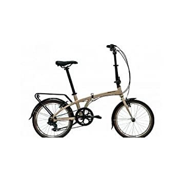 "Monty Folding - Bicicleta plegable, color negro / plateado, 12"" ..."