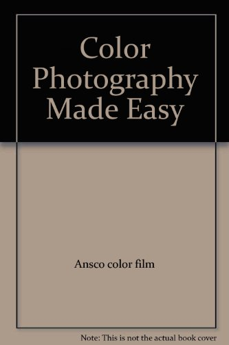 Film Ansco Color (Color Photography Made Easy with Ansco Color Film and Ansco Color Printon)
