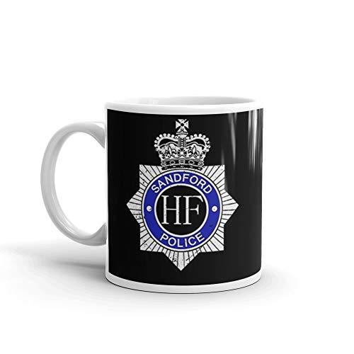Hot Fuzz - Sandford Police Mug 11 Oz White Ceramic (Cult Classic Icon)