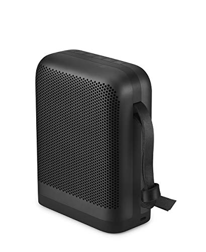 - Bang & Olufsen Beoplay P6 Portable Bluetooth Speaker with Microphone - Black