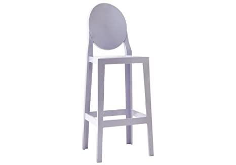 Kartell 5891g4 one more sgabello lavanda 2 pezzi: amazon.it: casa