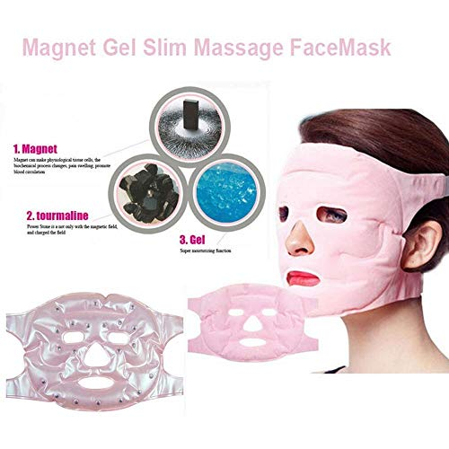 Birdfly 1 PC Beauty Face-Lift Mask Tourmaline Magnetic Therapy Massage Anti-Wrinkle Black Mud Deep Cleansing Purifying Peel Off Facail Acne Acnes from Mineral Remove Blackhead Face