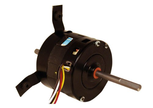Motor Ao Fan Smith (A.O. Smith ORV4540 1/5 HP, 1650 RPM, 3 Speed, 42Y Frame, CCWLE Rotation, 1/2-Inch by 4 by 2-1/2-Inch Shaft OEM Direct Replacement)