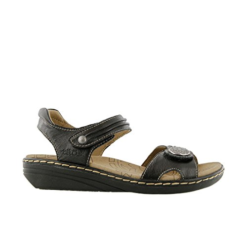 Ankle Taos Sandal Escape Women's Black Strap xwqTZC7w