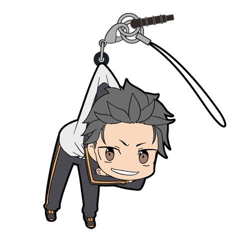 Re:ZERO Starting Life in Another World Natsuki Subaru Figure Keyring Strap Charm