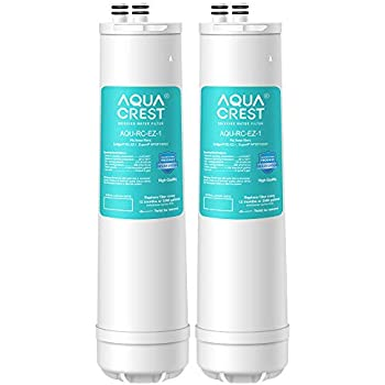 AQUACREST RC-EZ-1 Basic Water Filtration Replacement Cartridge, Compatible with Culligan IC-EZ-1, US-EZ-1, RV-EZ-1, Brita USF-201, USF-202, DuPont WFQTC30001, WFQTC70001, 3,000 Gallons (Pack of 2)