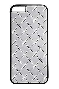 iphone 6 plus Case,Diamond Plate1 Custom PC Hard Case Cover for iphone 6 plus 5.5 inch Black