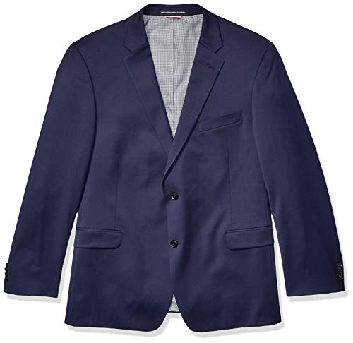 - Tommy Hilfiger Men's Modern Fit Suit Separate with Stretch (Blazer & Pant), Navy, 40L