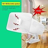 Electronic Alarm Siren Horn 150dB Indoor/Outdoor