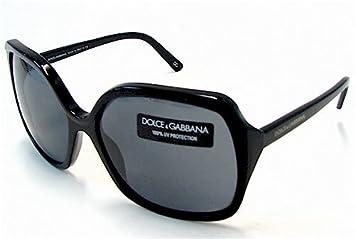 f630a762c2 Amazon.com  Dolce and Gabbana DG 4049 Sunglasses Shiny Black   Gray 501    87