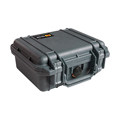 Pelican 1200 Case With Foam (Black) by Pelican