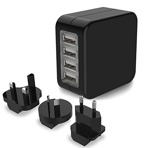 Travel Adapter, MoMoCity 4-Port USB Wall - Mobile Usb Power Adapter Shopping Results
