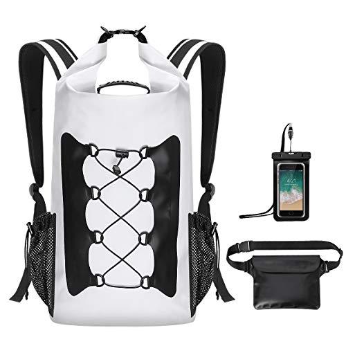 944589f876 MODOKIT Durable Waterproof Backpack Set of 3 with Waterproof Waist Pouch +  Phone Case