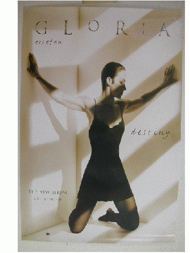 Gloria Estefan Promo Poster and handbill Destiny b2-8
