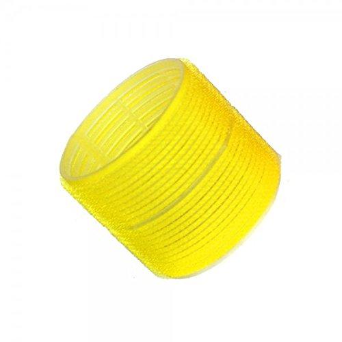 Hair Tools Velcro Cling Lockenwickler - Jumbo Gelb 66 mm x 6