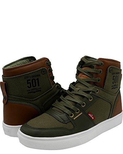 Hi Mason Levi's Sneaker Men's Olive Tan 501 qEgw6R