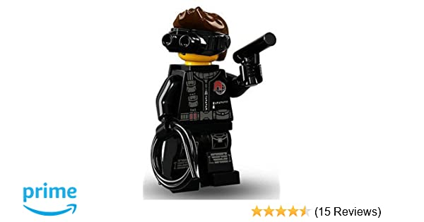 Lego Minifig Camera : Amazon lego series collectible minifigures secret agent