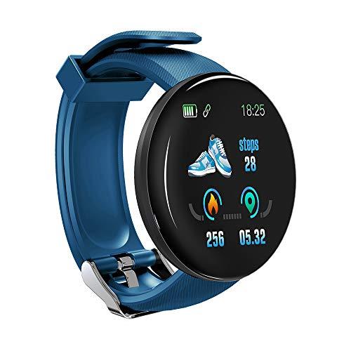 Jiaji D18 Smart Watch Fitness Tracker, 1,3 inch Fitness Tracker Kleurenscherm Waterdicht Sport Horloge…