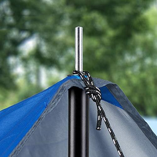 soporte de varillas de hierro para tiendas de campa/ña tubos de hierro de Awing de 50 cm de longitud soportes plegables para tienda Tubos de hierro galvanizado ajustables postes de toldo