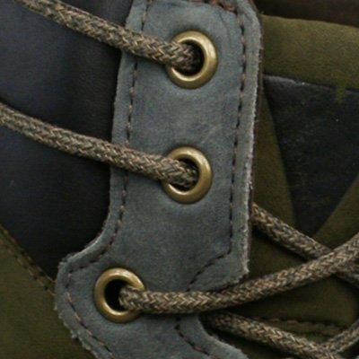 Sebago Scout Boot Mens Leder Boots / Schuh - Olive Grün
